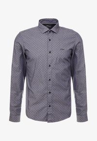 SLIM FIT - Shirt - vulcano grey