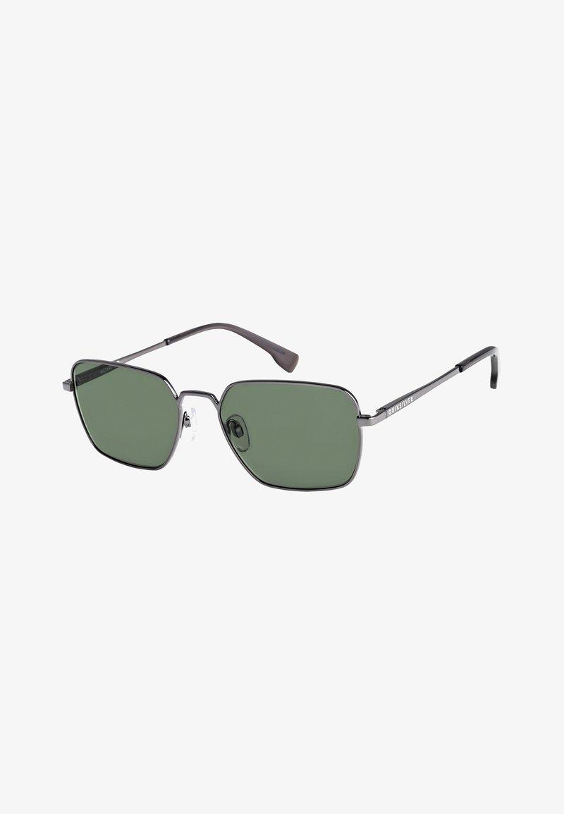 Quiksilver - WIZARD - Zonnebril - shiny gun/green