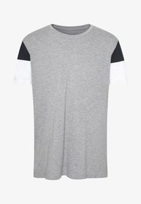 Print T-shirt - medium grey