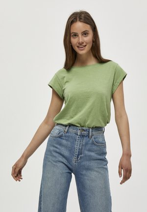 LETI - Basic T-shirt - pistachio
