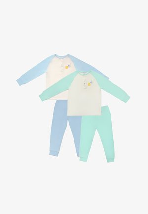 HAPPY GO HATCHLING BAMBOO - Pyjama - blue and green