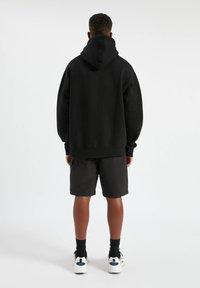 PULL&BEAR - Hoodie - mottled black - 2
