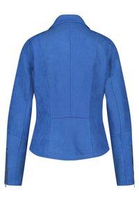 Gerry Weber - Faux leather jacket - aurora blue - 4