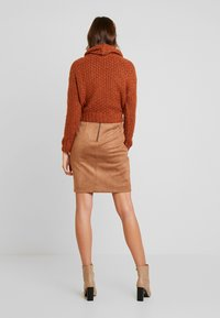 comma - Mini skirt - camel - 2