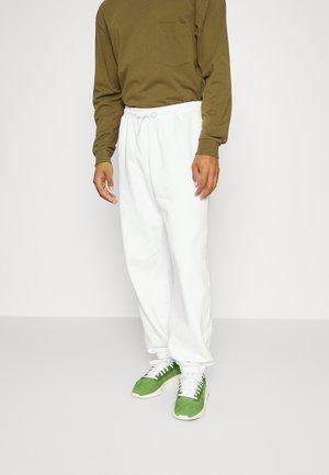 STANDARD PIPING UNISEX - Joggebukse - white/green