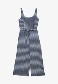 Vero Moda - VMDOTTI CULOTTE  - Jumpsuit - medium blue denim/white - 0