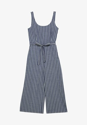 VMDOTTI CULOTTE  - Jumpsuit - medium blue denim/white