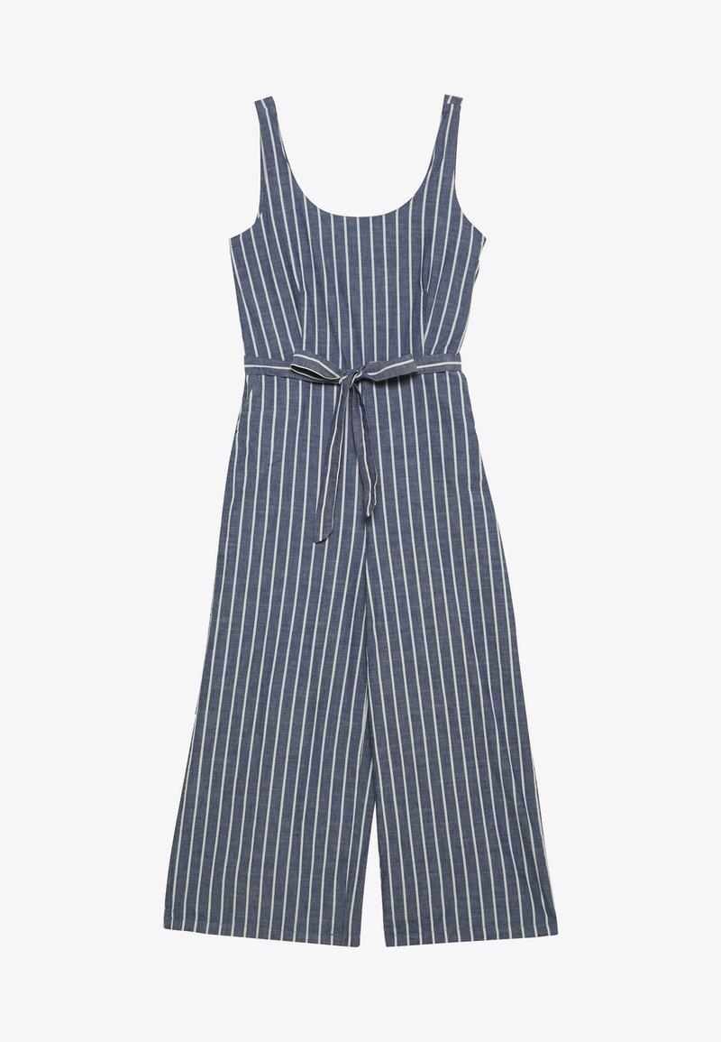 Vero Moda - VMDOTTI CULOTTE  - Jumpsuit - medium blue denim/white