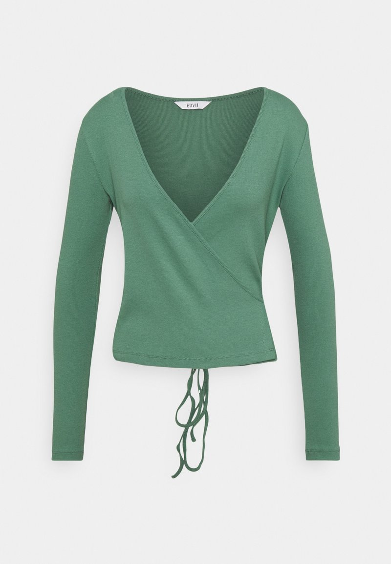 Envii - ENALLY - Long sleeved top - blue spruce