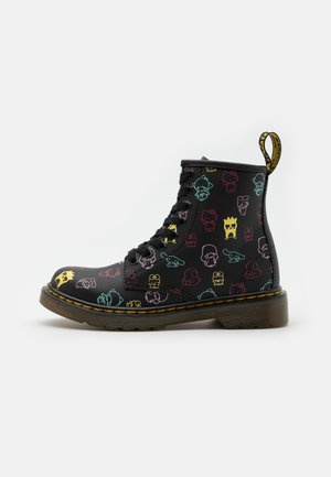1460 HELLO KITTY & FRIENDS J   - Lace-up ankle boots - black hydro