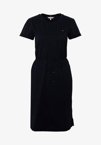 COOL SHORT DRESS - Jersey dress - desert sky