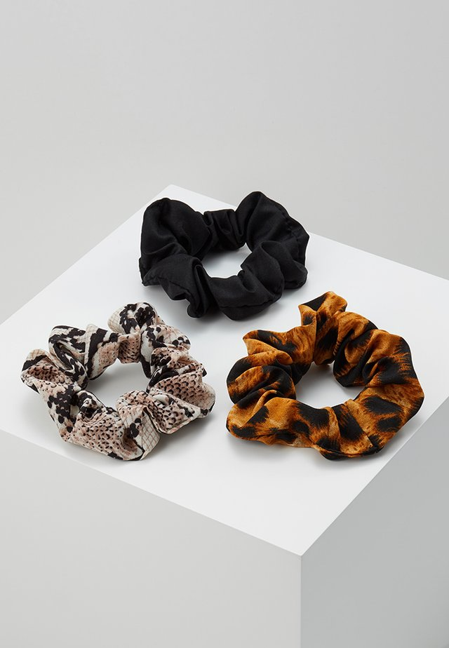 3 PACK - Accessori capelli - brown/black