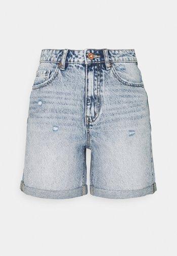 VMJOANA - Shorts di jeans - light blue denim