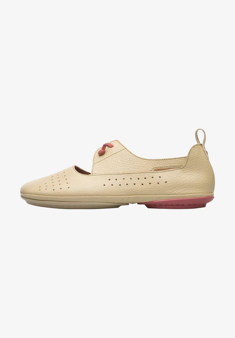 Camper - NINA - Ankle strap ballet pumps - beige