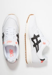 ASICS - GELSAGA - Zapatillas - white/black - 1