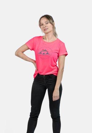 T-shirt imprimé - diva pink