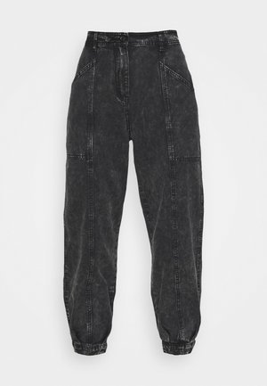 EMMA ANKLE PANT - Relaxed fit jeans - black