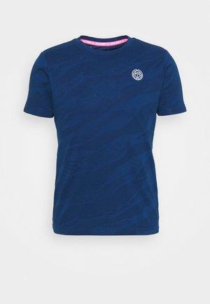 Camiseta estampada - dark blue