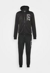 EA7 Emporio Armani - TUTA SPORTIVA - Zip-up hoodie - black - 0