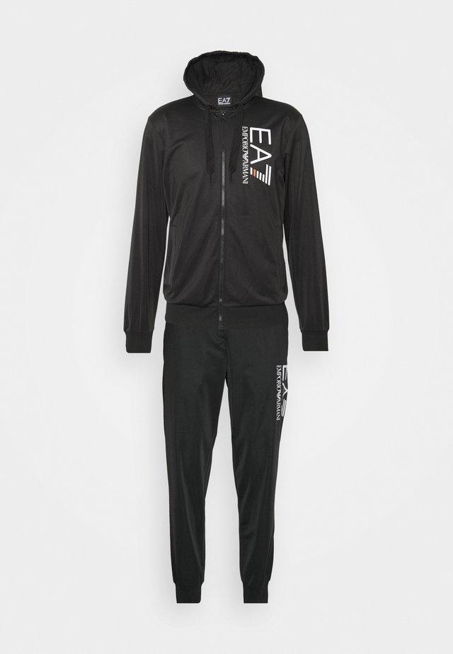 TUTA SPORTIVA - veste en sweat zippée - black