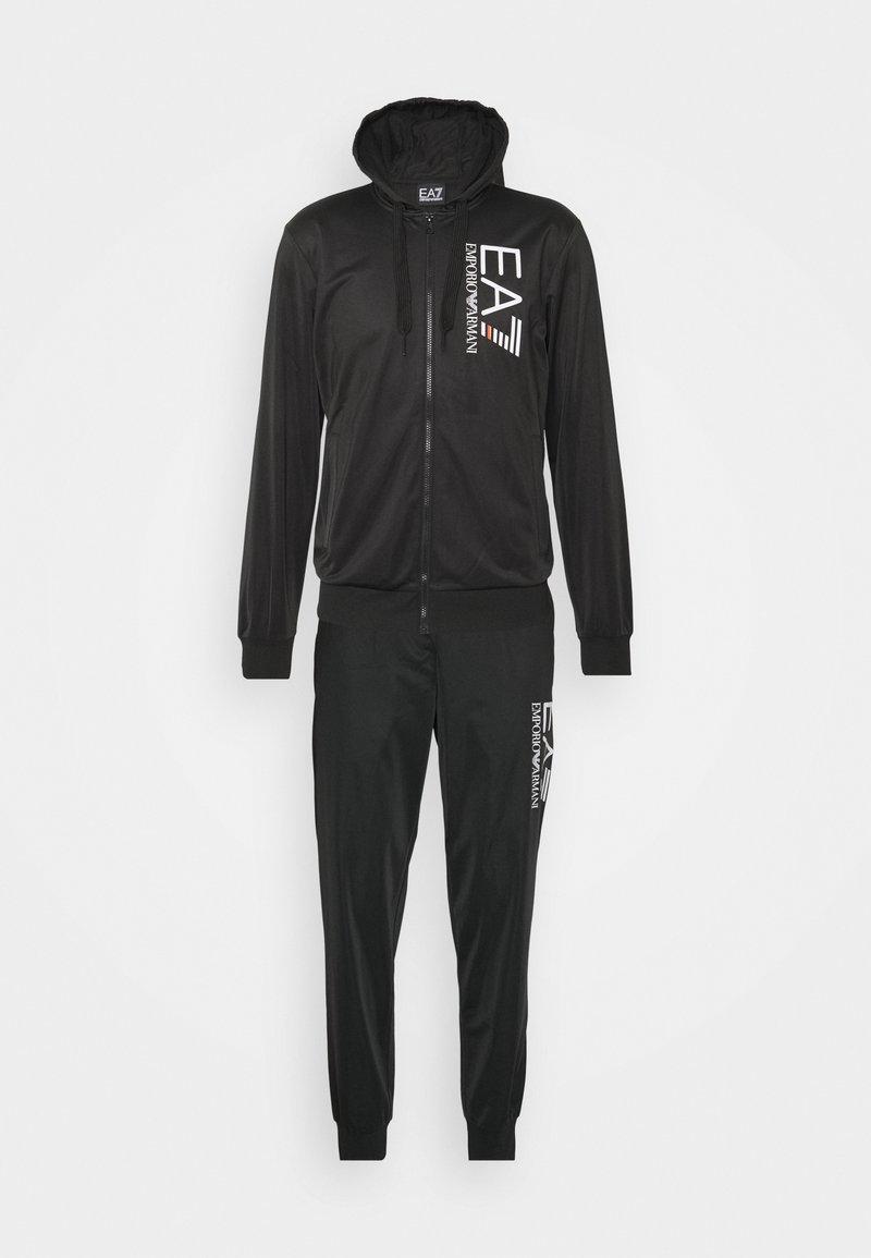 EA7 Emporio Armani - TUTA SPORTIVA - Zip-up hoodie - black