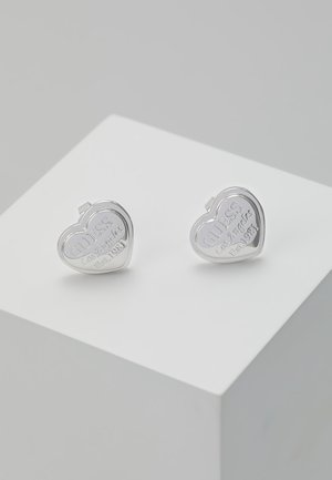 FOLLOW MY CHARM - Pendientes - silver-coloured