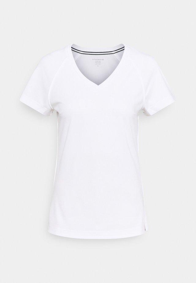 V TEE TESIA - T-shirt print - brilliant white