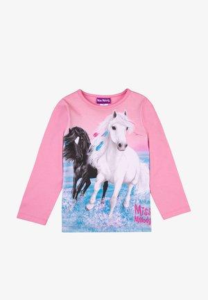 Long sleeved top - sea pink