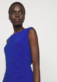 Lauren Ralph Lauren - MID WEIGHT DRESS - Trikoomekko - sporting royal - 3