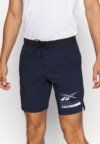 Reebok - EPIC - Pantalón corto de deporte - dark blue - 3