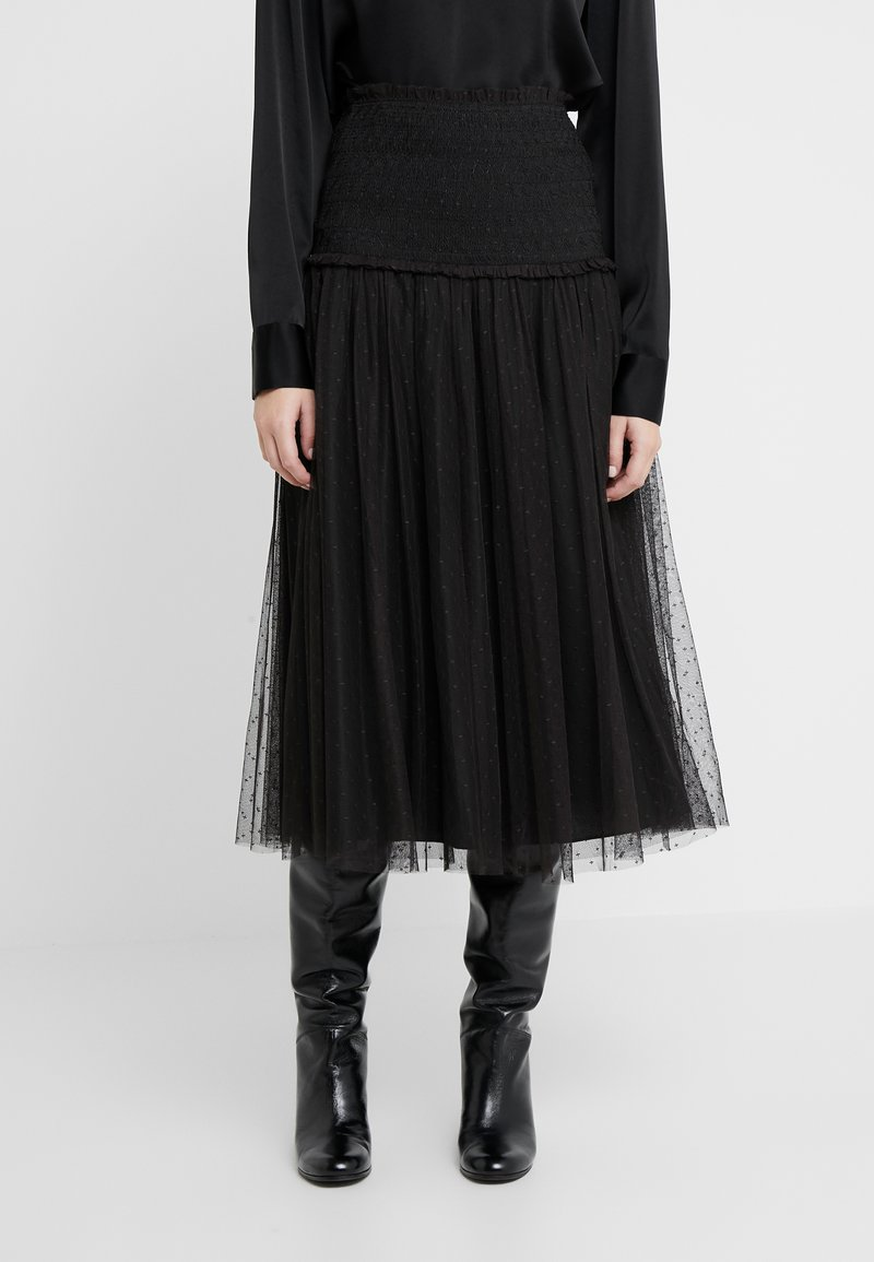Needle & Thread - SMOCKED KISSES BALLERINA SKIRT - A-Linien-Rock - ballet black