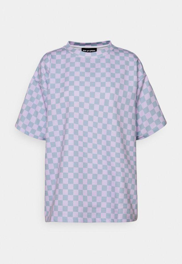 CHECKERBOARD TEE - T-shirt print - multi