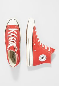 Converse - CHUCK TAYLOR ALL STAR HI ALWAYS ON - Korkeavartiset tennarit - enamel red - 1
