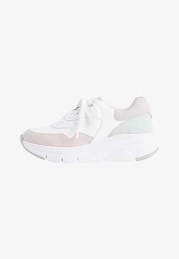Trainers - white/pastel