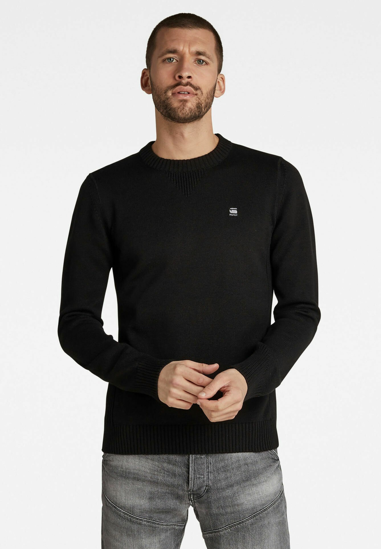 Homme CLASSIC SPORT KNITTED - Pullover