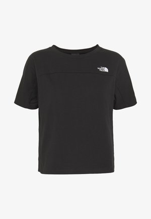 WOMEN'S NORTH DOME - Print T-shirt - black