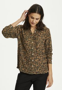 Kaffe - KAOTELIA - Blouse - woodsmoke small flowers - 0