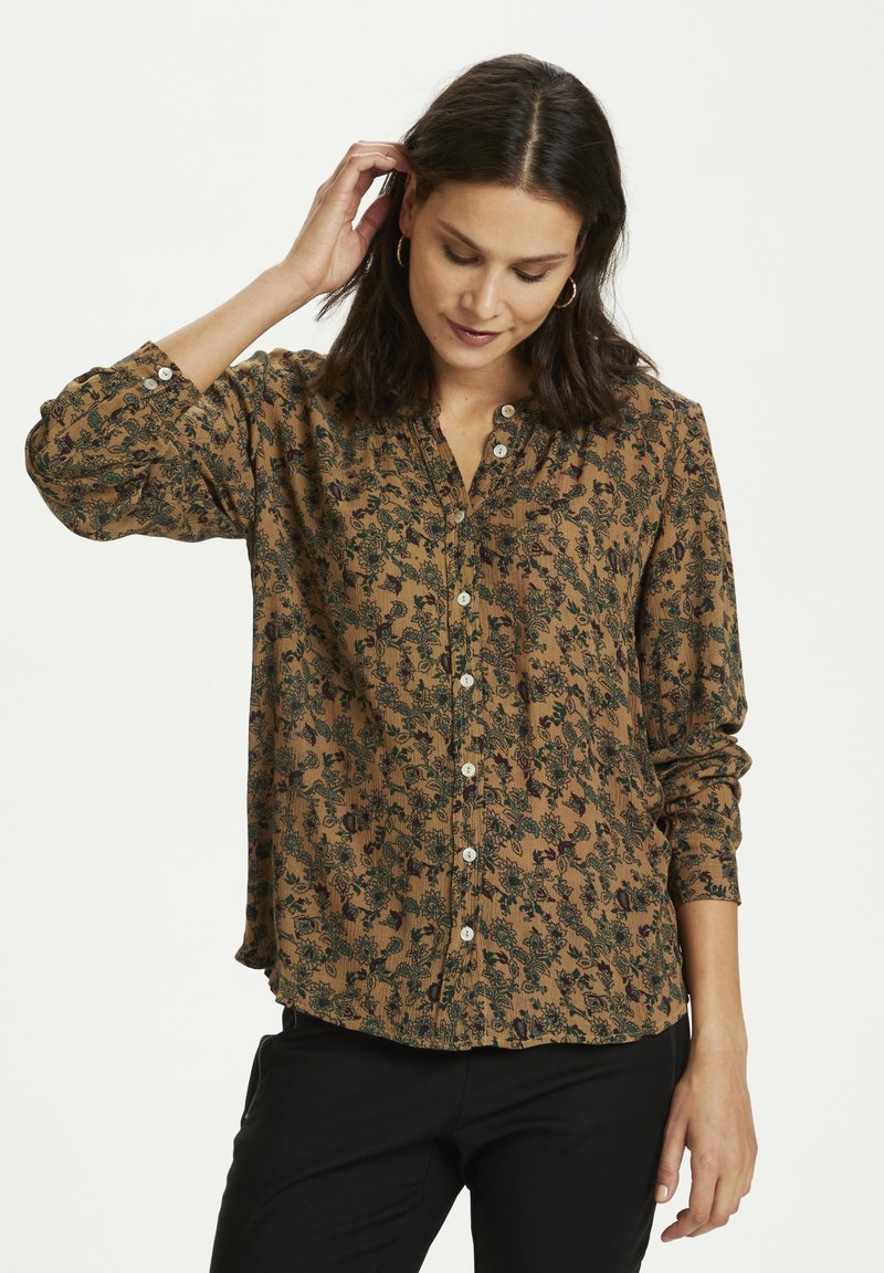 Kaffe - KAOTELIA - Blouse - woodsmoke small flowers