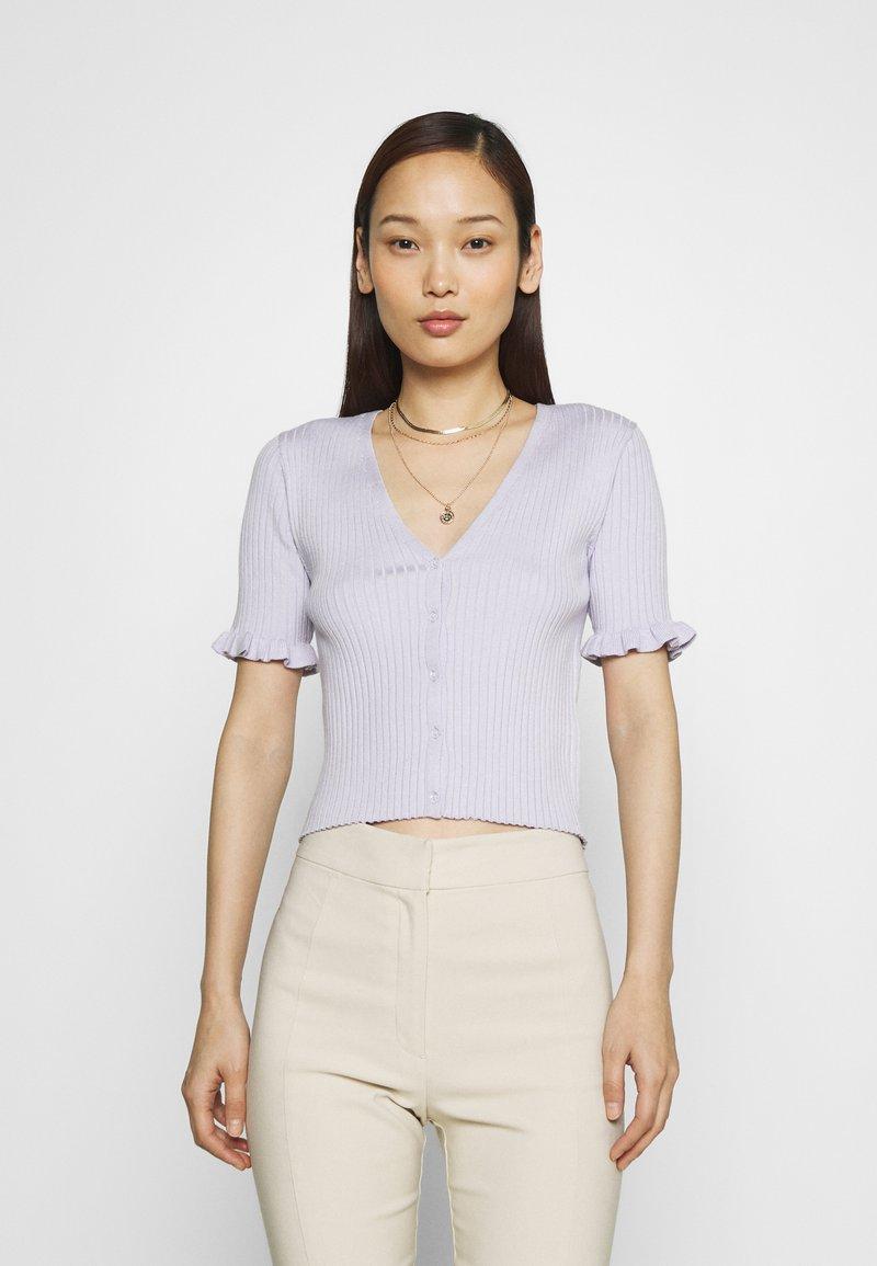 Monki - SALMA - Cardigan - lilac