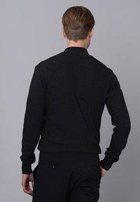 Basics and More - Cardigan - black melange - 1