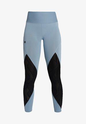 RUSH VENT LEGGINGS - Tights - hushed turquoise/black