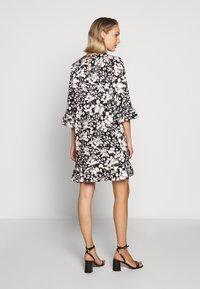 Rebecca Minkoff - FEDERICA DRESS - Denní šaty - black/cream - 2