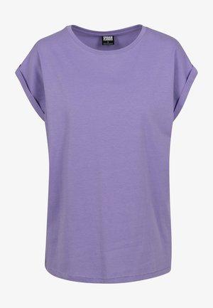 EXTENDED SHOULDER TEE - Basic T-shirt - bluepurple