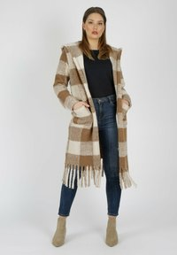 MiaZAYA - Classic coat - camel - 0