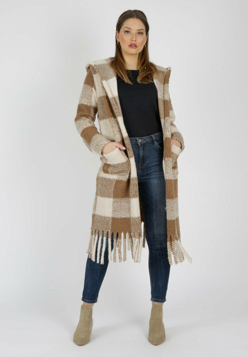 MiaZAYA - Classic coat - camel