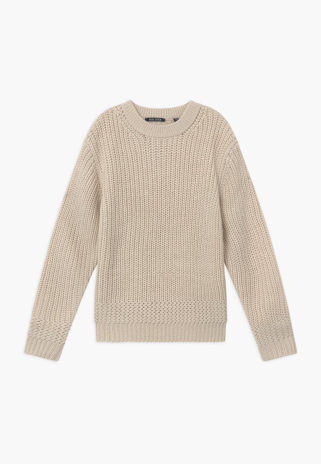 TEENS - Pullover - kiesel