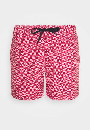MEDIUM DRAWSTRING PRINT - Swimming shorts - red