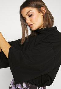 Monki - HILLIE TEE - T-shirt basic - black - 4
