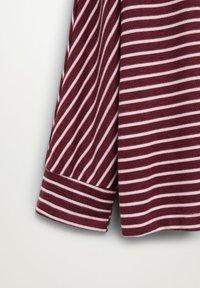 Violeta by Mango - KYOTO - Long sleeved top - grenat - 5