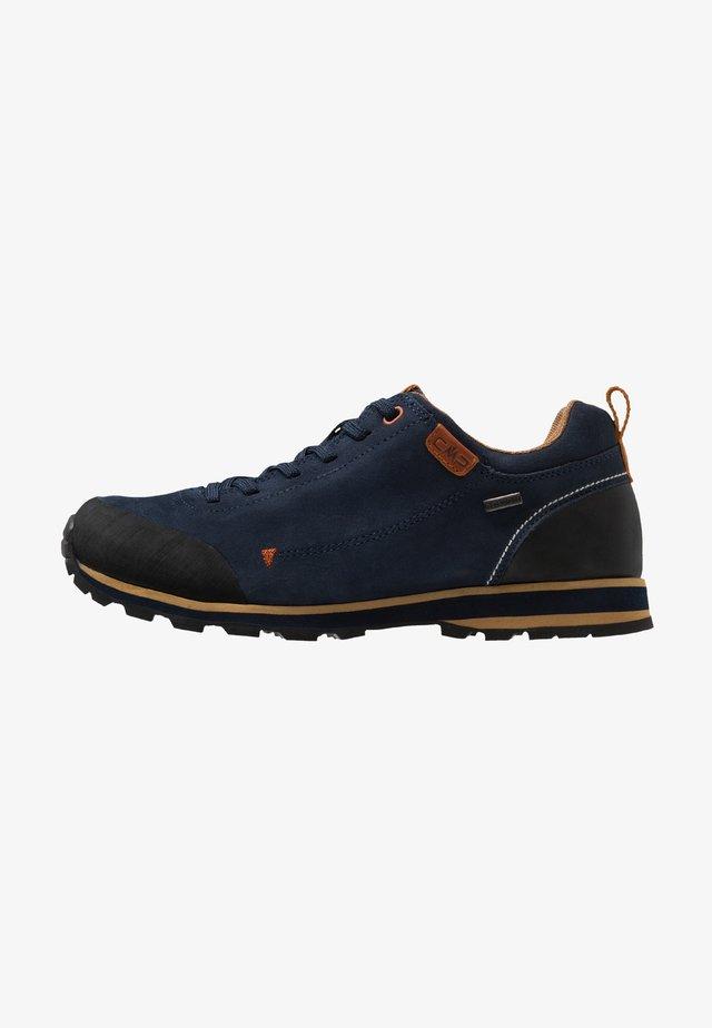 ELETTRA LOW SHOE WP - Hiking shoes - black/blue